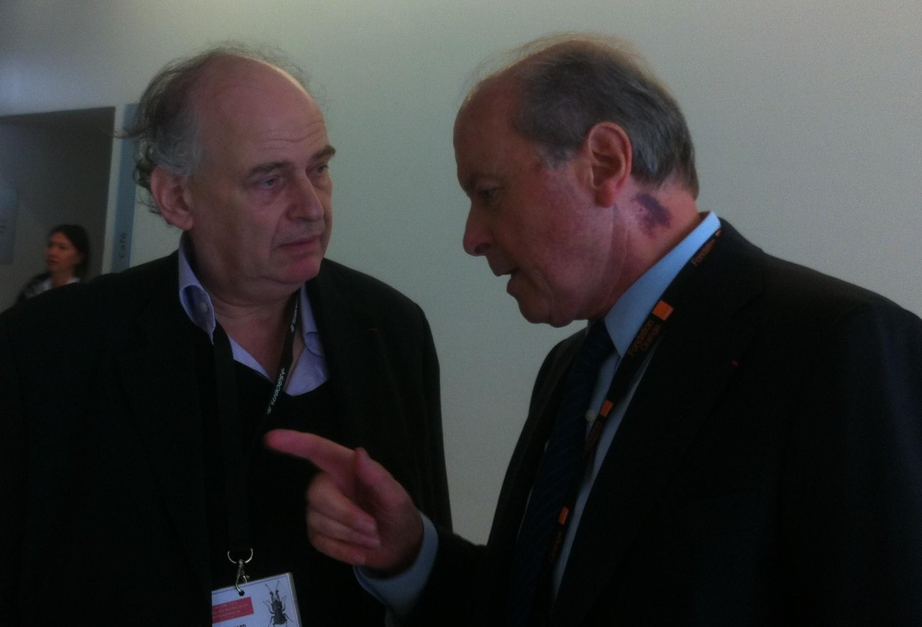 Mr Toubon and Petitgirard